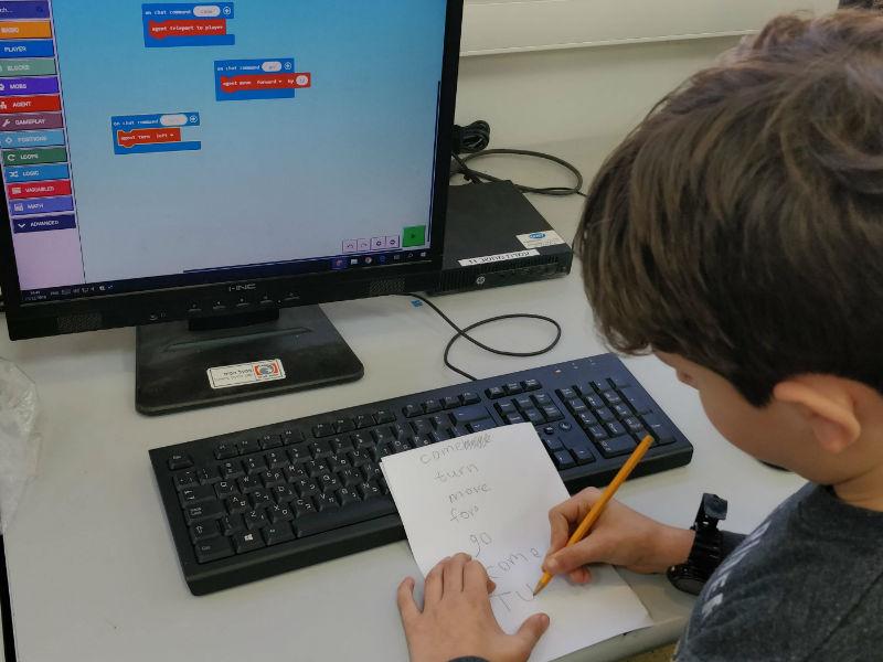 לימודי אנגלית טכנית באמצעות מיינקראפט לחינוך
