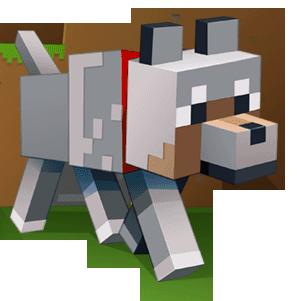 כלב מיינקראפט